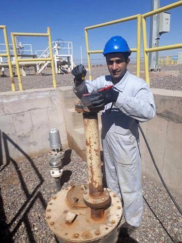 تجهیز مخزن زیرزمینی مرکز انتقال نفت یزد به ترانسمیتر ارتفاعسنج سطح