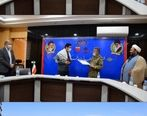 بازدید فرمانده سپاه ناحیه خواف از شرکت صنعتی و معدنی توسعه فراگیر سناباد