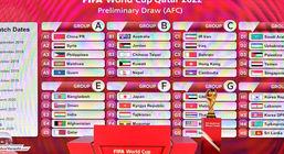 گروه ایران در انتخابی جام جهانی 2022 قطر مشخص شد + جدول