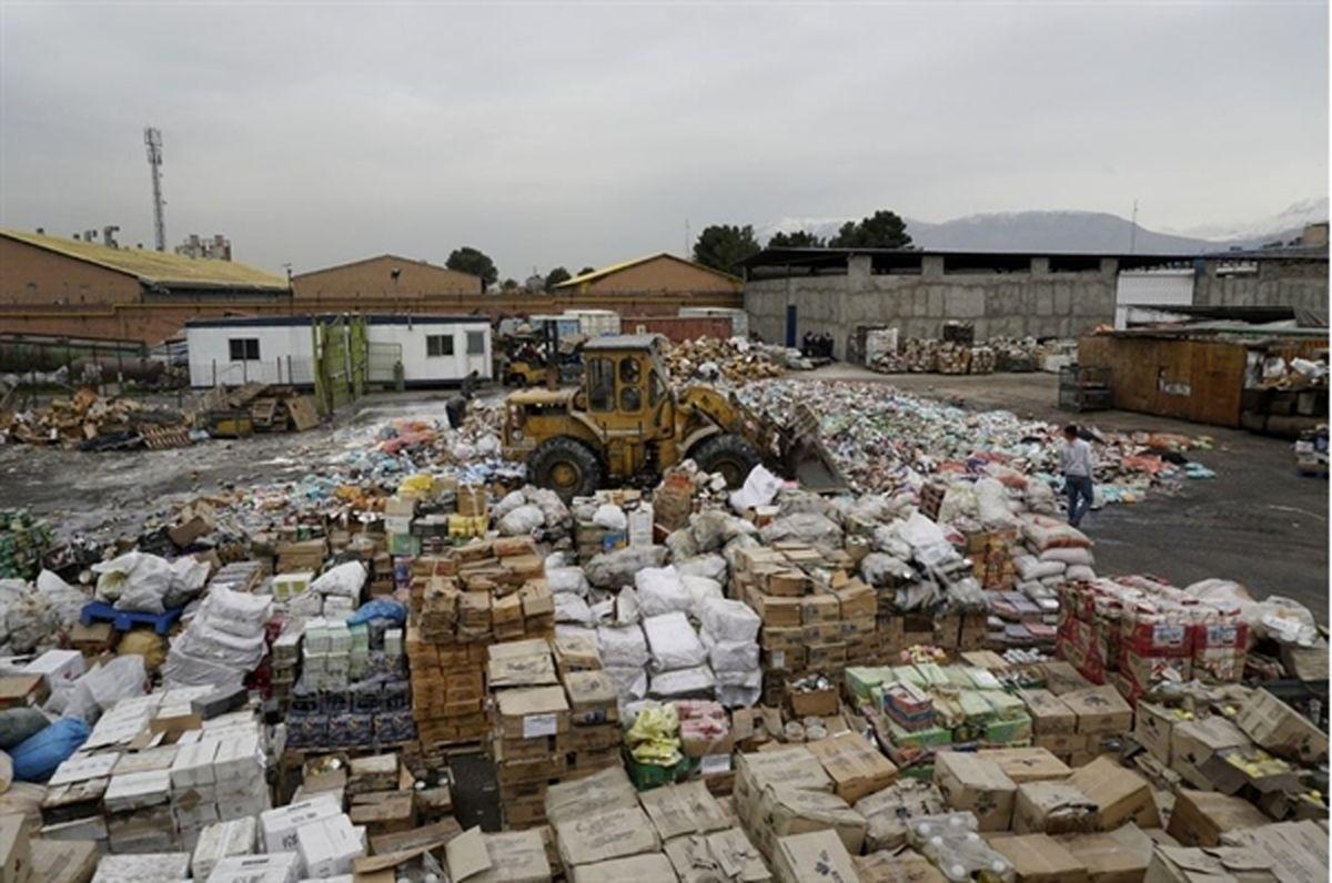 امحا بیش از یک هزار تن کالای غیر استاندارد در 6 استان کشور