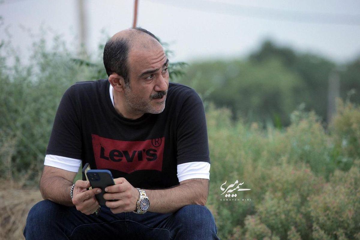 اشکان خطیبی عکس جدید مهران غفوریان را لو داد | عکسهای مهران غفوریان و دخترش