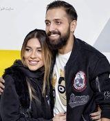 عکس جنحالی و لورفته محسن افشانی و همسرش در استخر خصوصی! + عکس