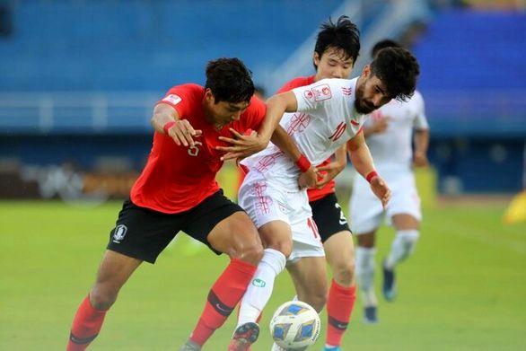 شکست امیدهایایران مقابل کرهجنوبی درانتخابی المپیک