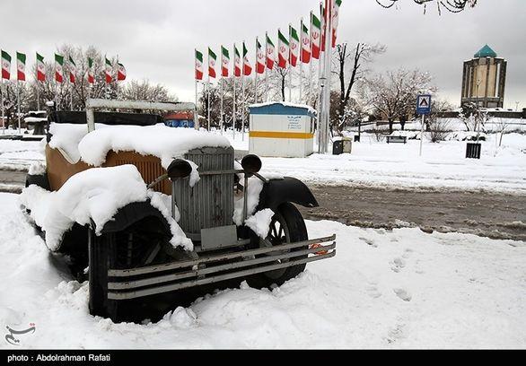 پیش بینی بارش برف یک متری در برخی استانها