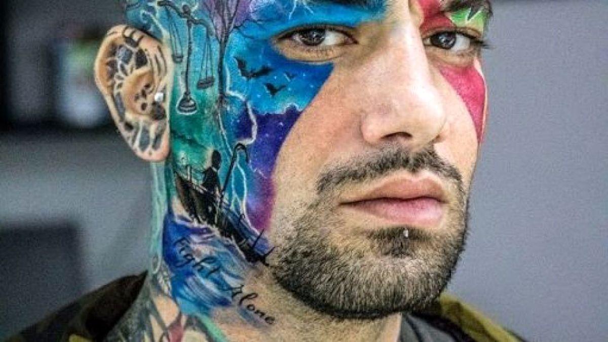 خالکوبی جدید امیر تتلو در قسمت نامتعارف بدنش + عکس