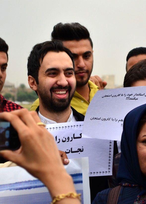 اقتصاد ایران آنلاین - خواننده پاپ در چهارمین زنجیره انسانی نجات ...