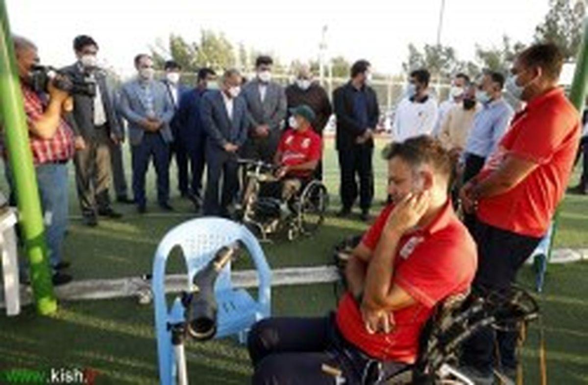 دو اردوی تمرینی ملی پوشان کشور درکیش به طور همزمان برپا شد