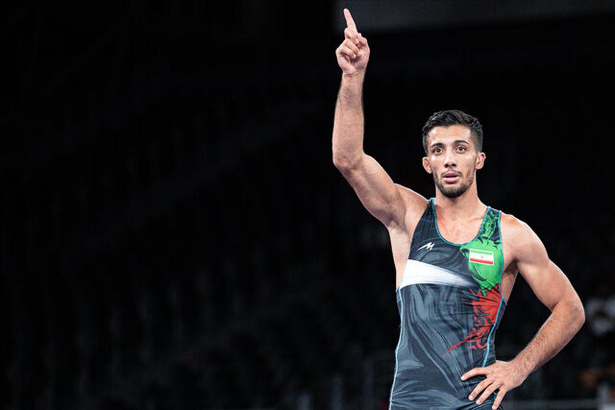 محمدرضا گرایی مدال طلا گرفت