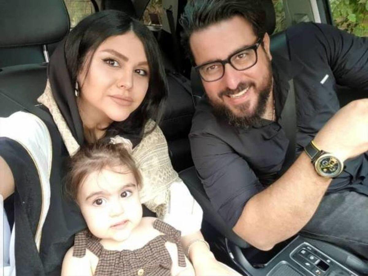 محسن کیایی و همسرش در سالگرد ازدواجشان + تصاویر