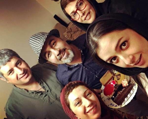 جشن تولد رضا عطارن