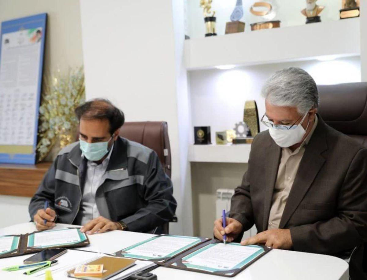 امضای تفاهم نامه همکاری شرکت گل گهر و دانشگاه هایتک کرمان