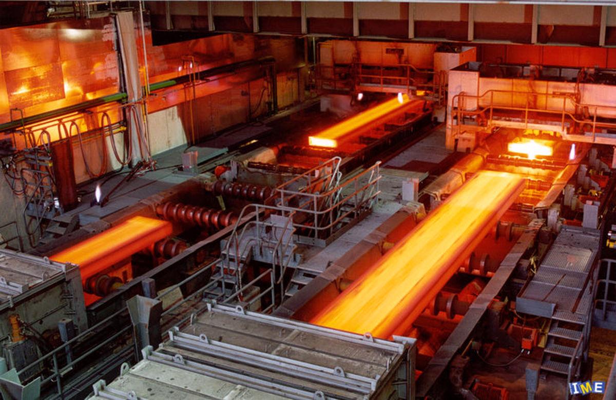 افزایش صادرات شمش، محصولات فولادی و آهن اسفنجی