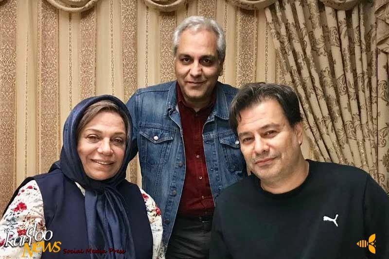 جشن مهران مدیری برای تولد پیمان قاسمخانی +فیلم | کندو