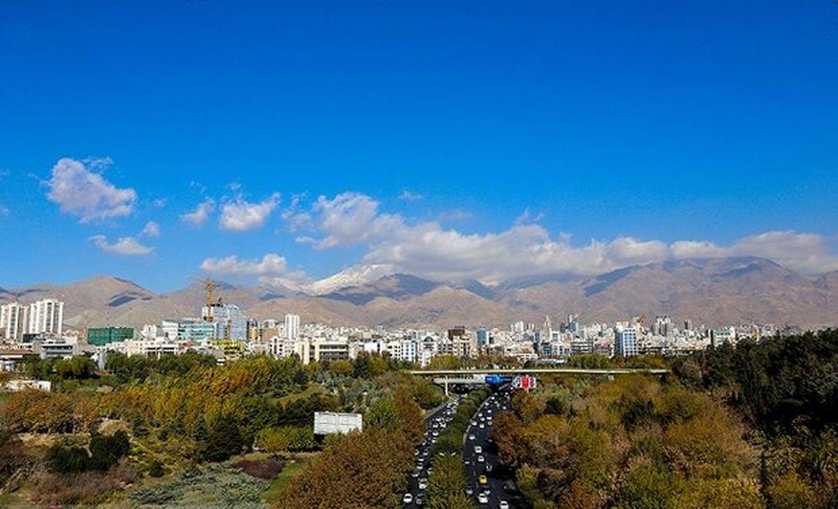 کیفیت هوای پایتخت در آخرین جمعه تابستان