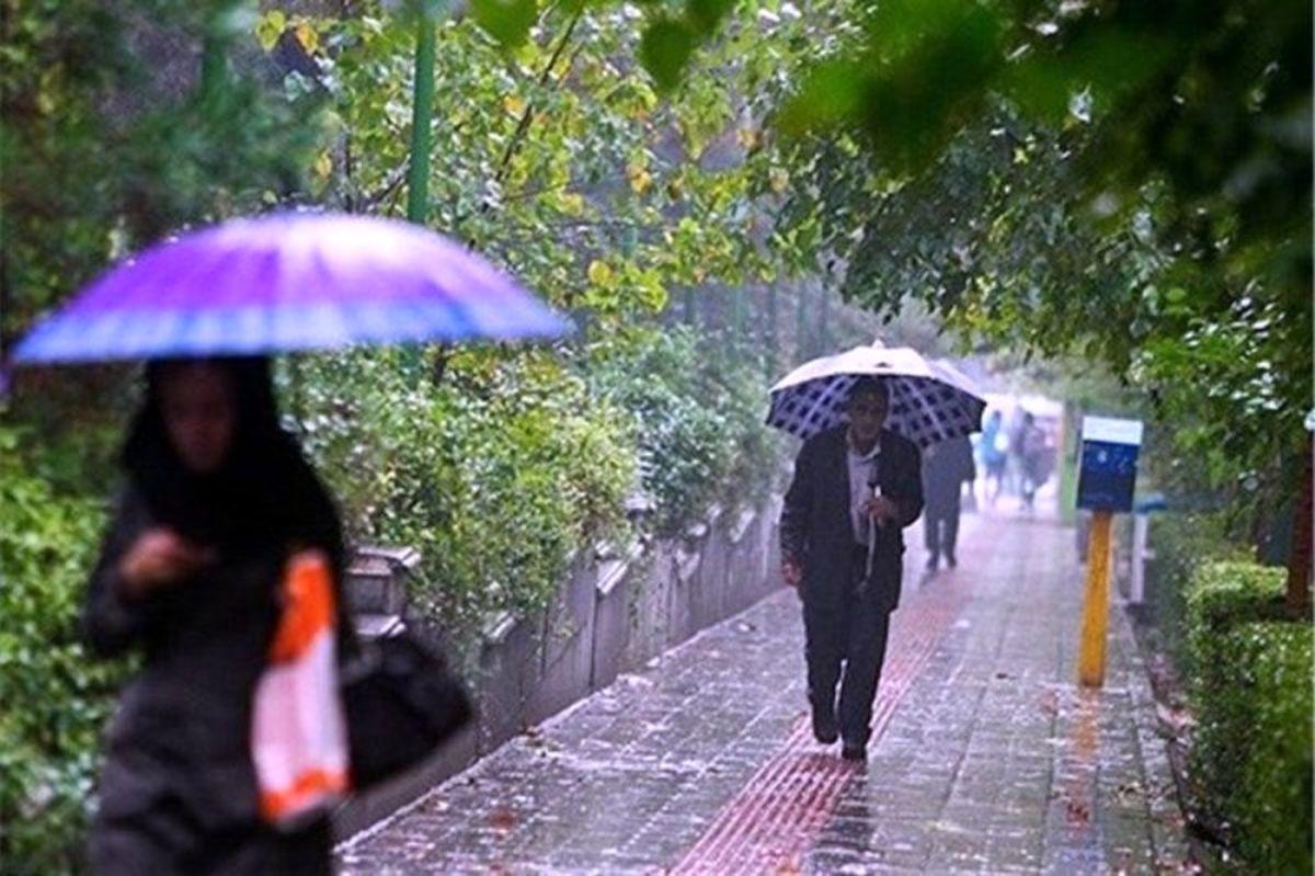 بارشها در کشور ادامه دارد