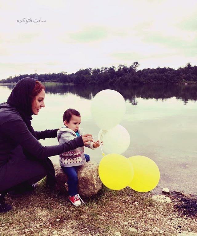 عکس مهناز افشار و دخترش لیا + بیوگرافی