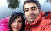 همسر واقعی بچه مهندس در کنار همسرش + عکس