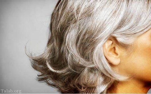 با این ۷ روش درمانی از شر موهای سفید خلاص می شوید