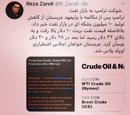 شوک شدید به بازار نفت