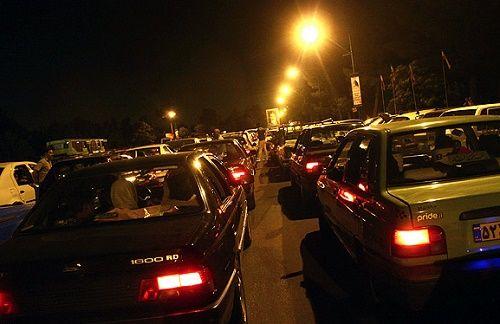 ترافیک هراز همچنان سنگین است