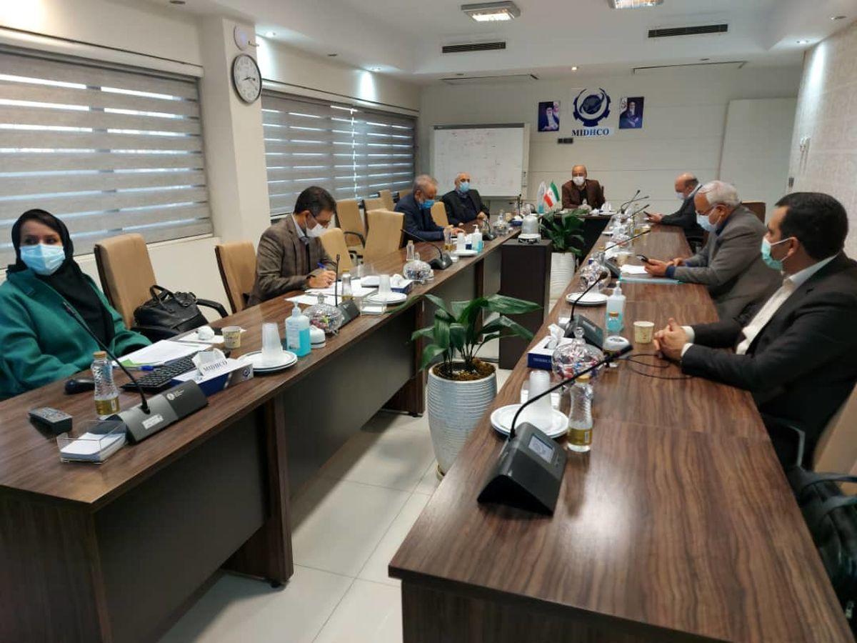 یکصد و چهل و سومین جلسه تولید شرکت میدکو برگزار شد