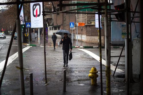 وضعیت کیفیت هوای تهران در هفته ی اول ابان