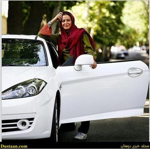 ماشین لوکس و گرانقیمت طناز طباطبایی +عکس - مجله اینترنتی دوستان