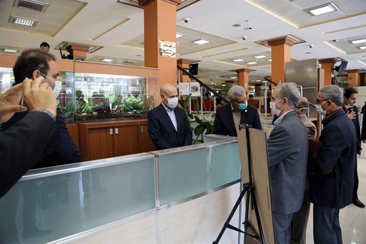 راه اندازی باجه ویژه بازنشستگان در شعبه مرکزی بانک کشاورزی
