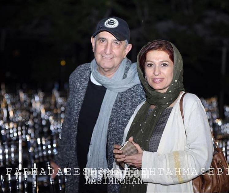 فرهاد آئیش و همسرش مائده طهماسبی - مجله اینترنتی دوستان