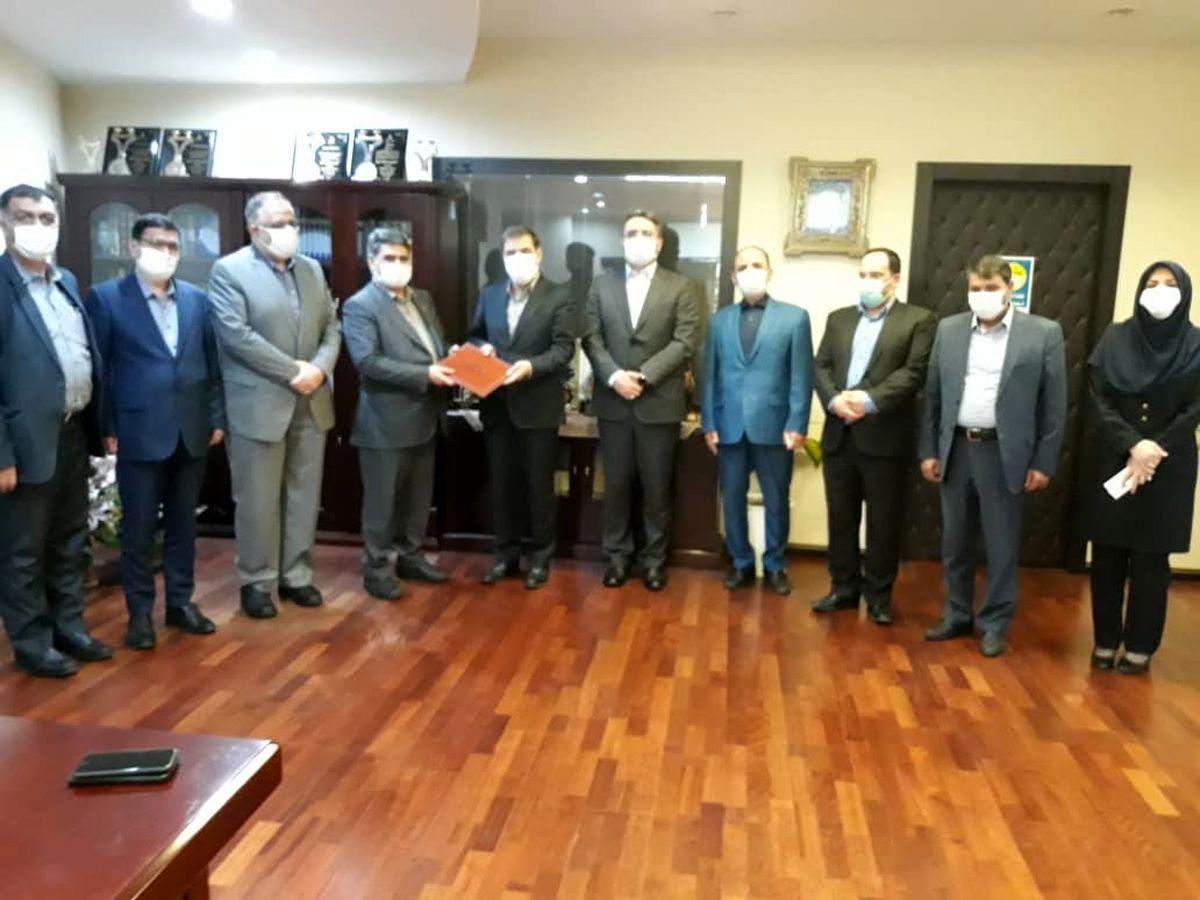امضای تفاهم نامه همکاری شرکت ملی پست و بیمه ایران