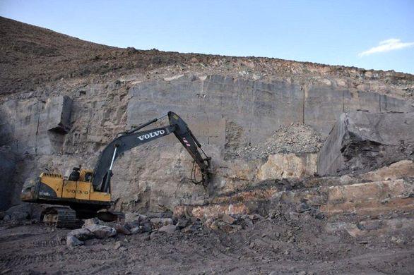 بهره برداری از مرمریت سیاه سنگ آغاز شد