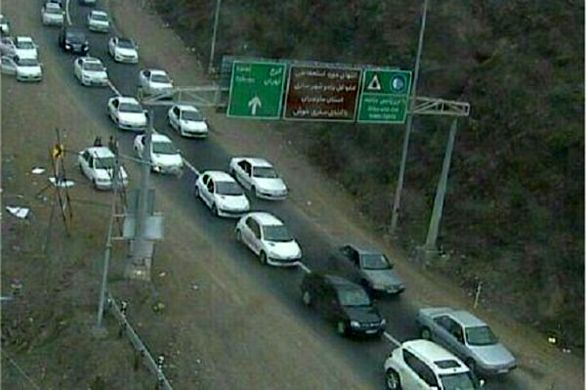 آخرین وضعیت ترافیکی جاده های کشور پنجشنبه 10بهمن