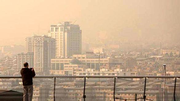 هوا تهران همچنان نگران کننده