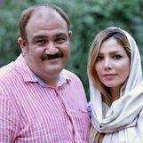 عکس لورفته از زن مهران غفوریان در خارج از کشور   مهران غفوریان و همسرش