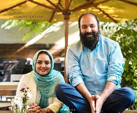 علی اوجی,بیوگرافی علی اوجی,عکس های علی اوجی و همسرش