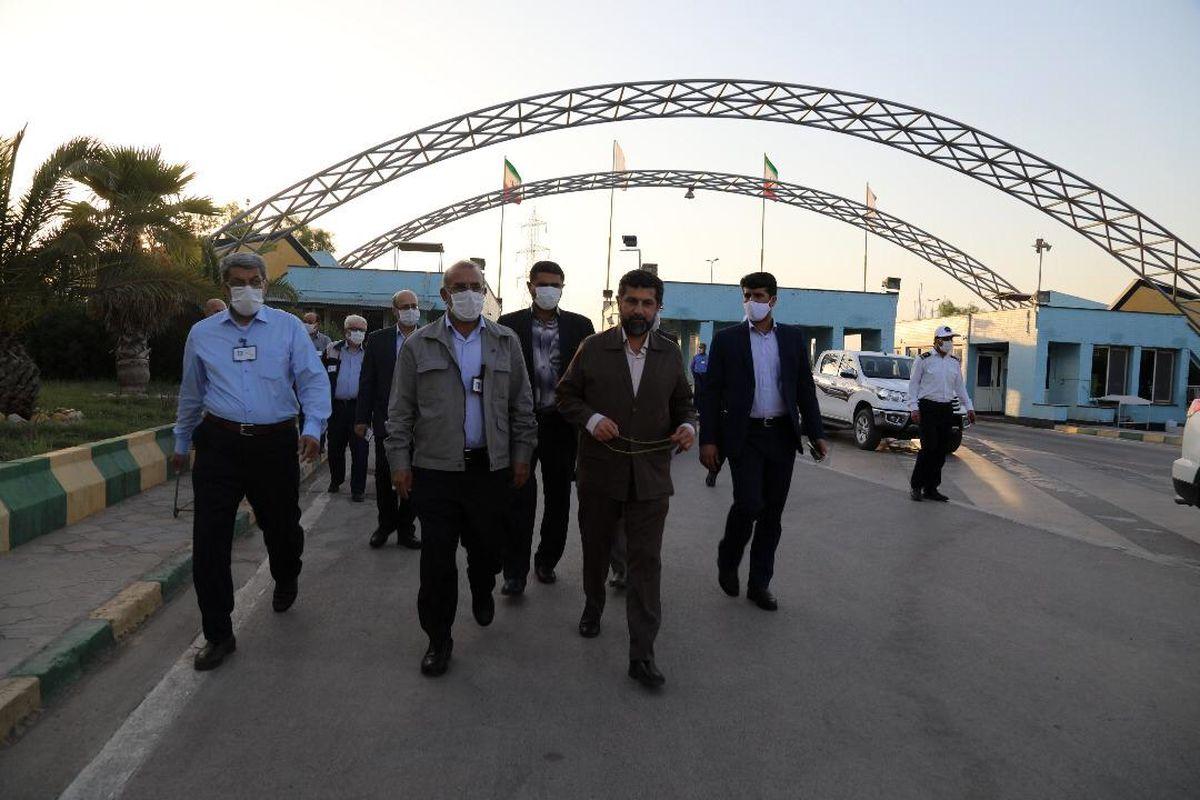بازدید استاندار خوزستان از مجتمع پتروشیمی بندرامام