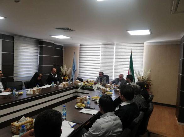 برگزاری جلسه مدیران شرکت سنگ آهن گهرزمین
