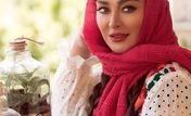 دسته گل میلیونی الهام حمیدی برای زایمانش | شوهرش او را سورپرایز کرد + عکس