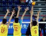 والیبال ایران با اقتدار از دیوار چین عبور کرد