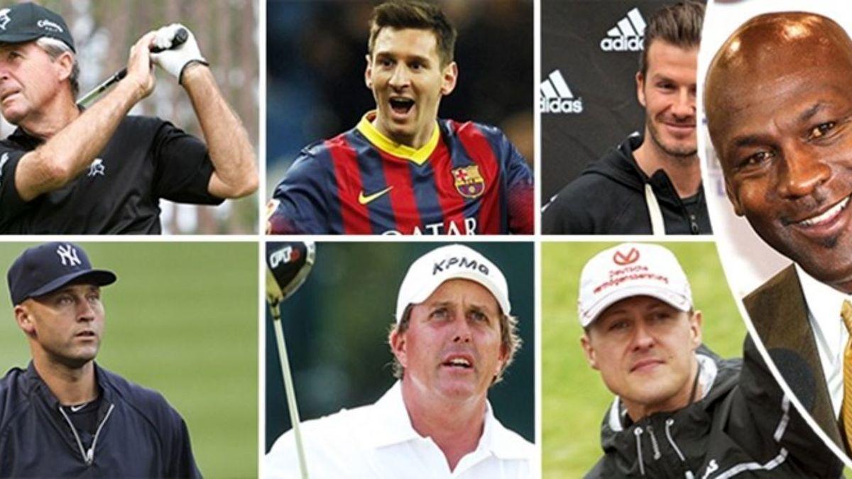 اسامی پولدارترین ورزشکاران دنیا