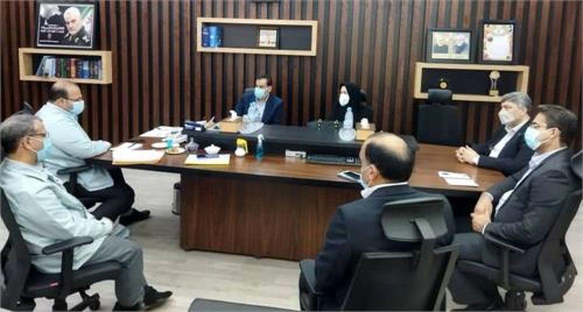 دیدار مدیرعامل فولاد خوزستان با مدیر شعب بانک تجارت خوزستان