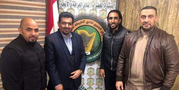 بازیکن استقلال به تیم عراقی پیوست + عکس