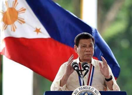 فیلم/ حاشیه جدید رییس جمهور فیلیپین
