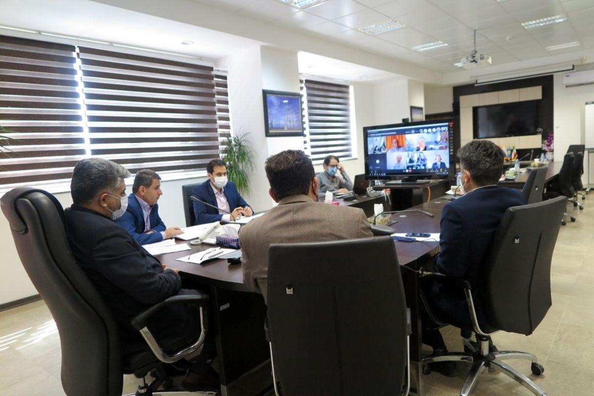 نشست هماهنگی و توسعه کارگروه بین المللی کریدور شمال - جنوب برگزار شد