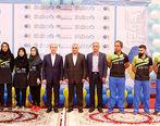 مراسم بدرقه تیم ملی پینگ پنگ با حضور بانک دی