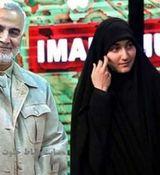 دلنوشته فرزند سردار سلیمانی با انتشار تصویری از دست پدر + عکس