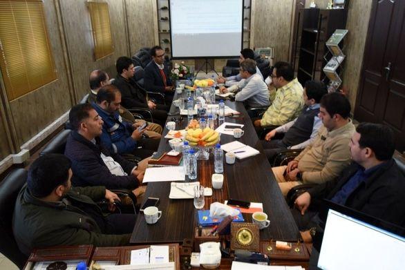 برگزاری دومین جلسه کمیته راهبری تعالی سازمانی در مجتمع فلات مرکزی