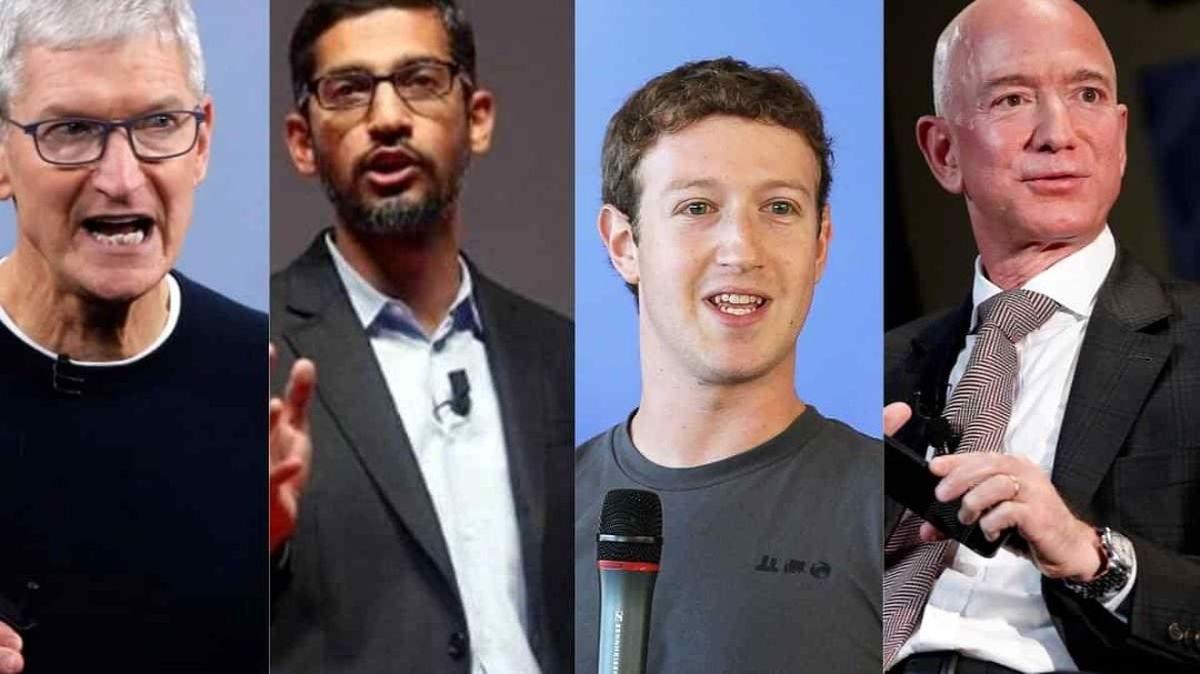 مدیرانعامل اپل، گوگل، آمازون و فیسبوک به دادگاه احضار شدند