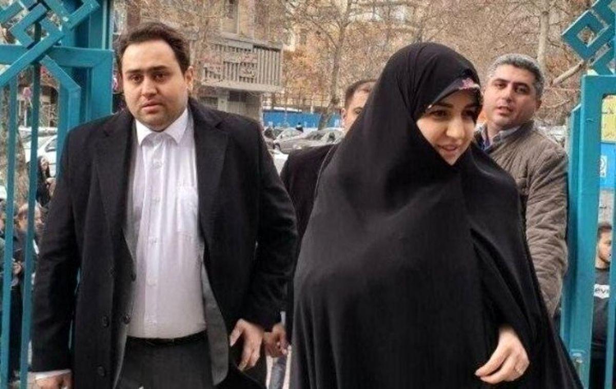 توضیح دانشگاه علوم پزشکی شهید بهشتی درباره دختر روحانی + عکس