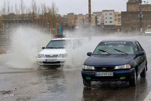 جزئیات وقوع سیلاب در خاورشهر تهران + فیلم